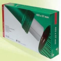 Filtry rurowe 455 x 57 mm gramatura 60g 250 szt