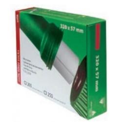 Filtry rurowe 320 x 57 mm gramatura 60g 250 szt