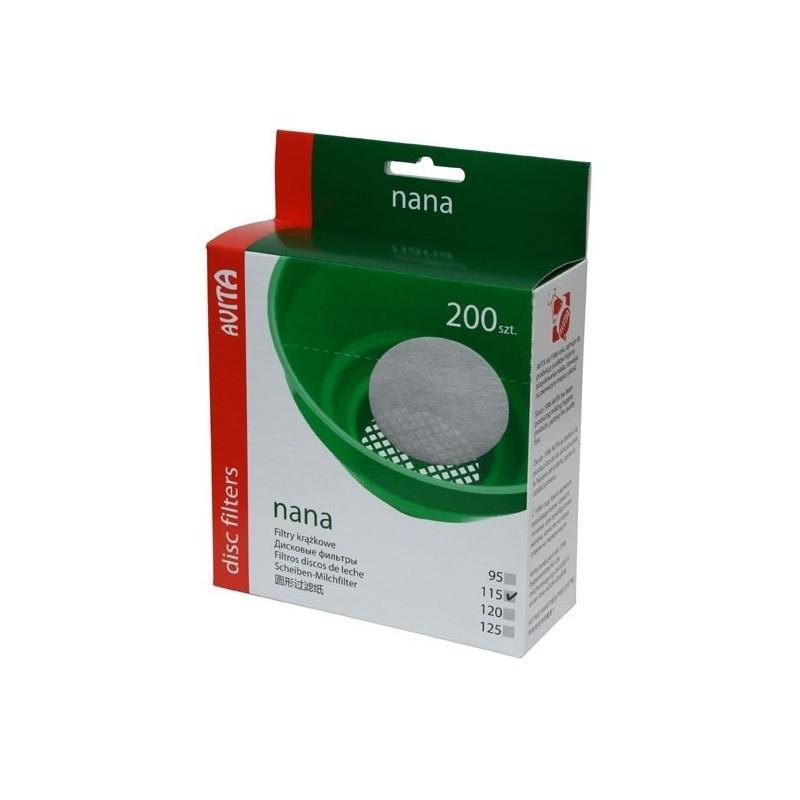 Filtry krążkowe 115 mm 200 szt