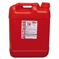 Avitaiod-płyn do poudojowej dezynfekcji strzyków 10 l.