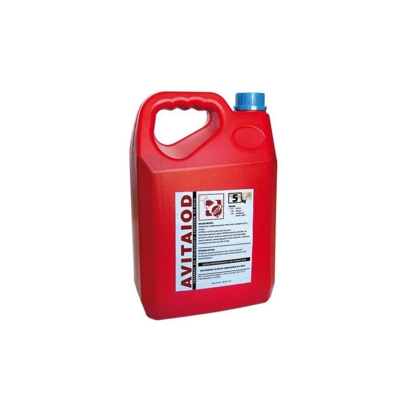 Avitaiod 5 l.-płyn do poudojowej dezynfekcji strzyków