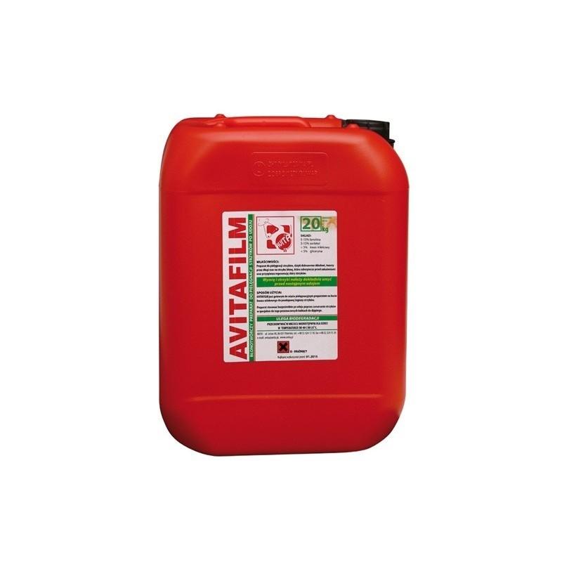 Avitafilm-płyn do poudojowej dezynfekcji strzyków 20 litrów
