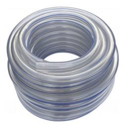 Przewód mleczny PCV 14x24 (25 m) – niebieski pasek