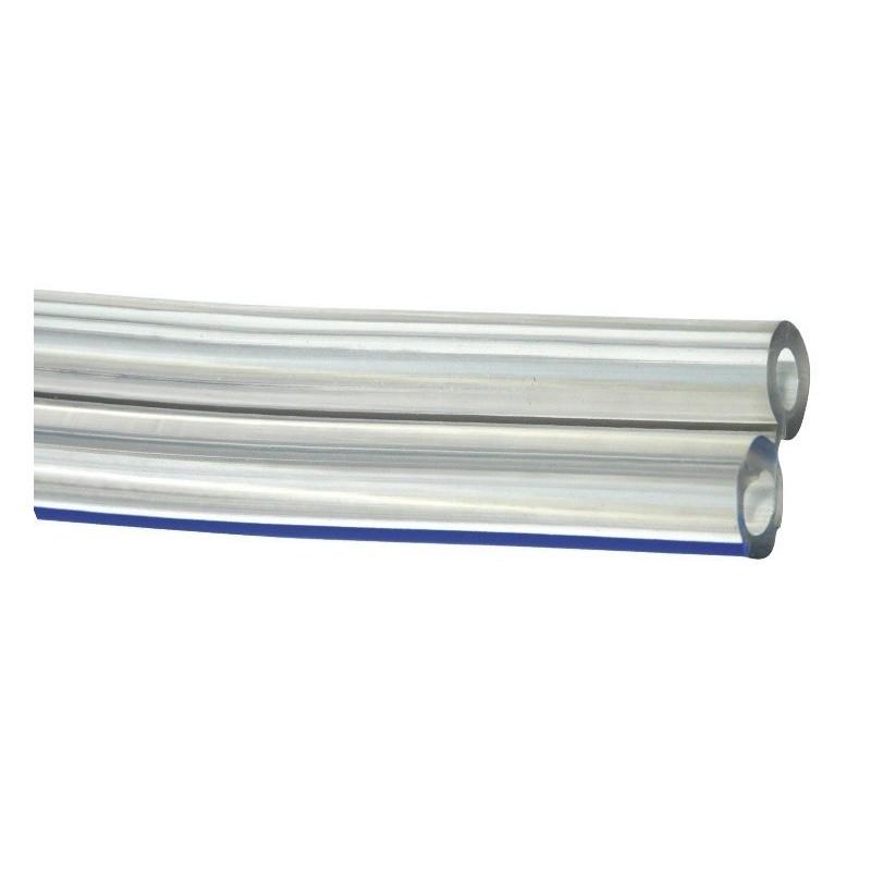 Przewód podwójny gumowy 2x7x14 mm (0,8 m)