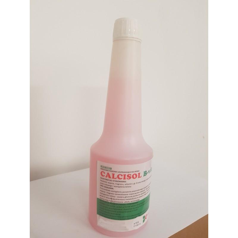 Calcisol b-vit - Płynna mieszanka dla krów, uzupełnia wapń i witaminy z grupy B